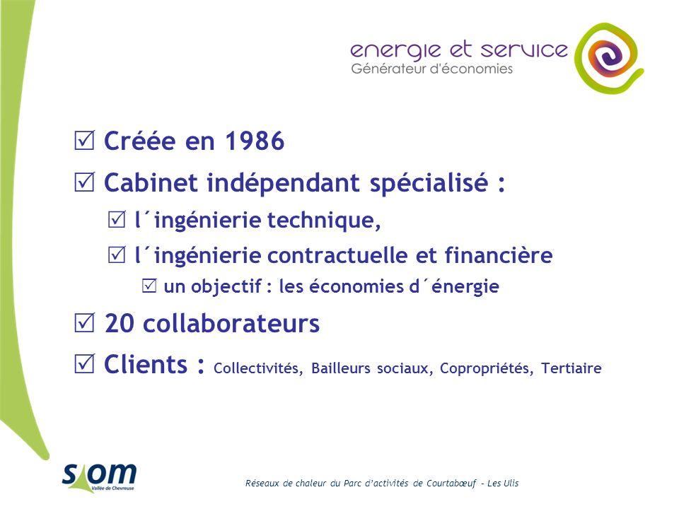 Cabinet indépendant spécialisé :