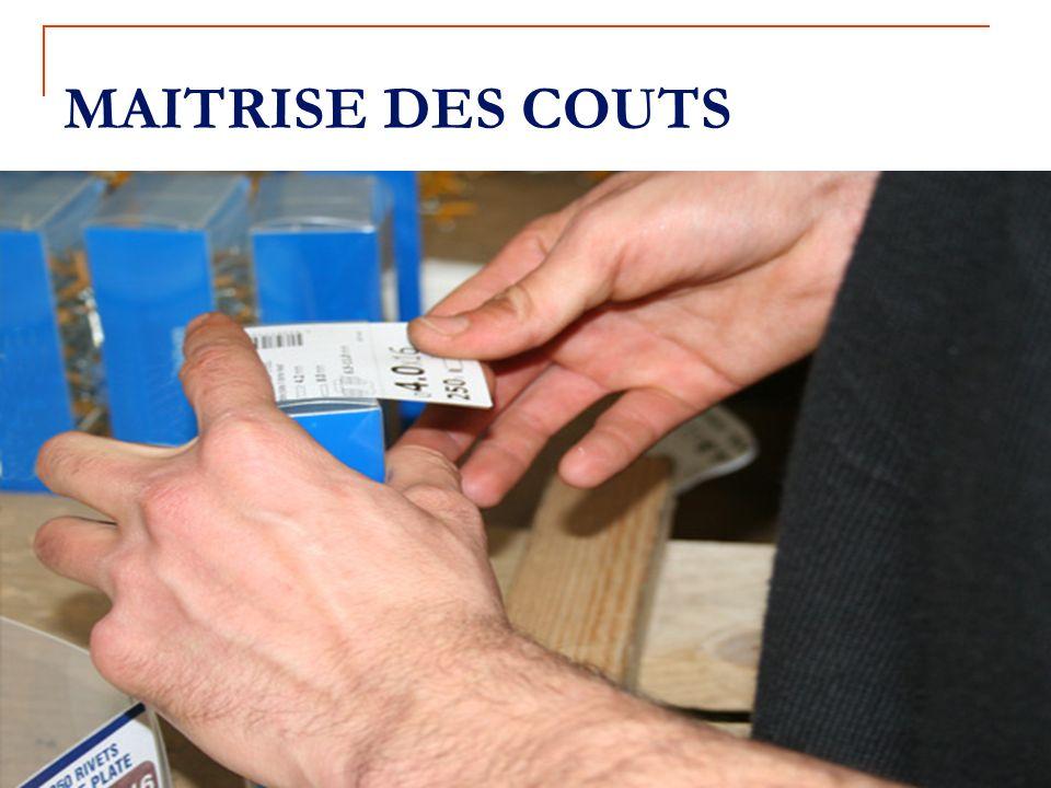 MAITRISE DES COUTS