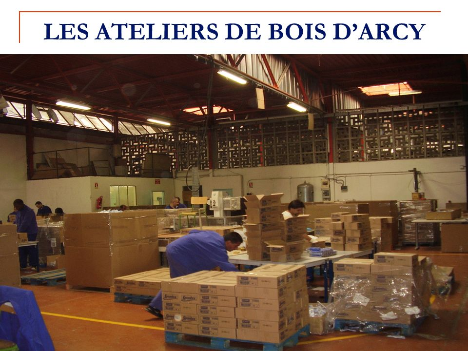 LES ATELIERS DE BOIS D'ARCY