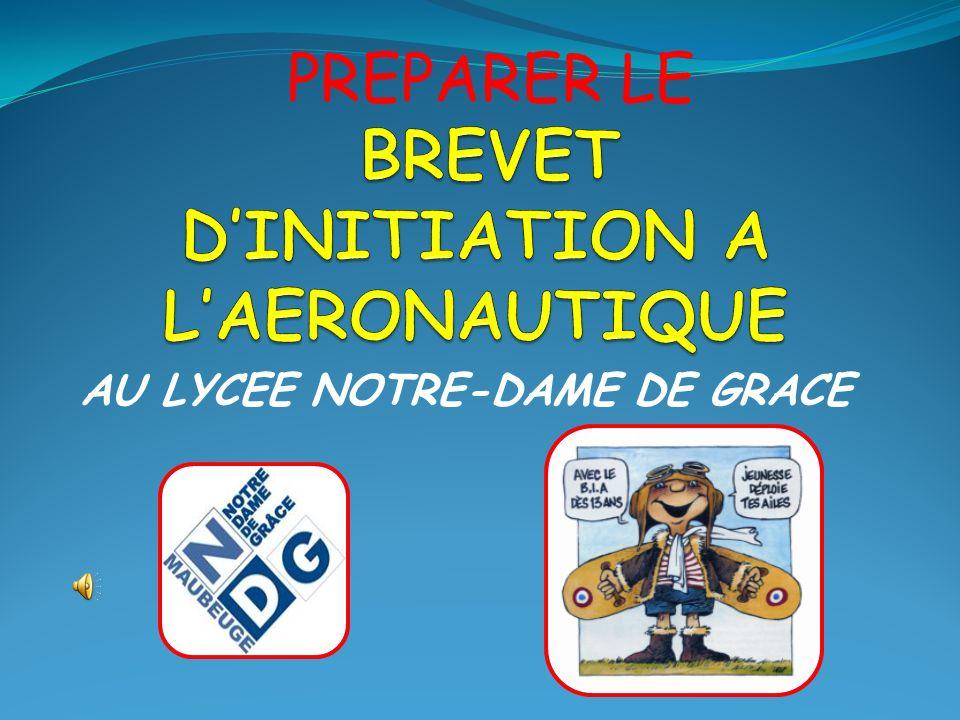 BREVET D'INITIATION A L'AERONAUTIQUE