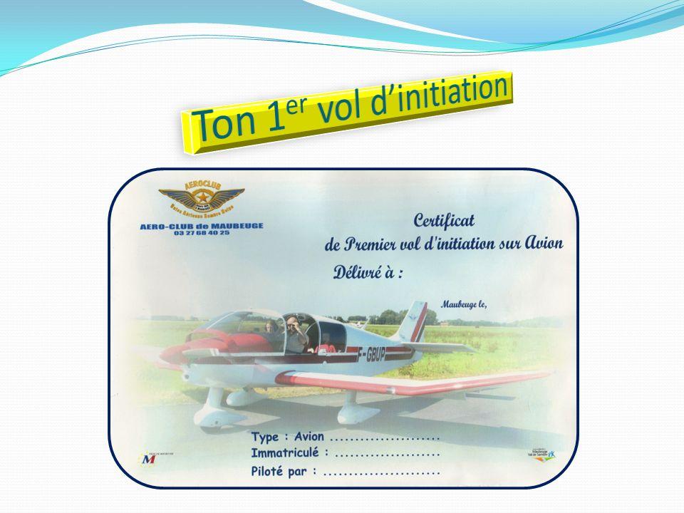 Ton 1er vol d'initiation
