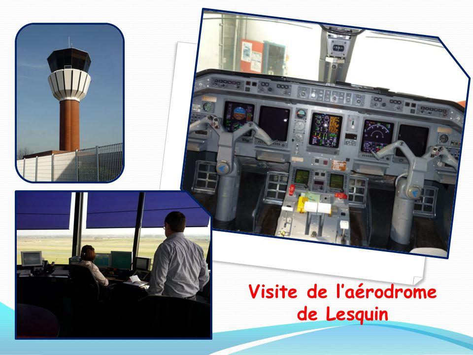 Visite de l'aérodrome de Lesquin