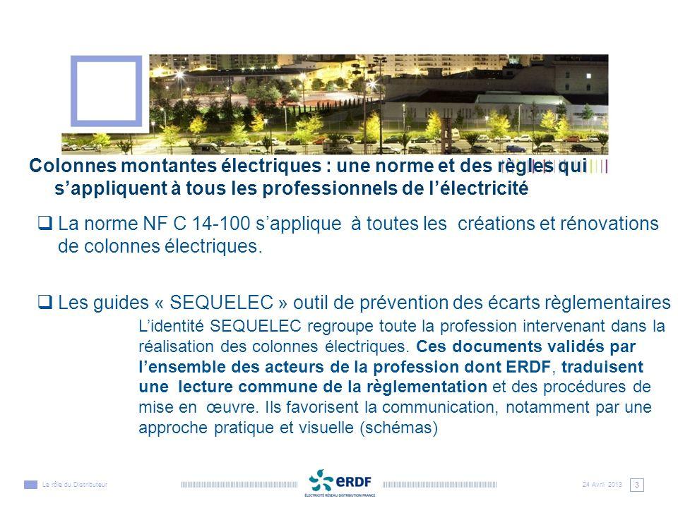 Les guides « SEQUELEC » outil de prévention des écarts règlementaires