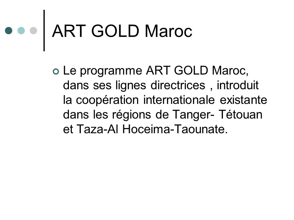 ART GOLD Maroc