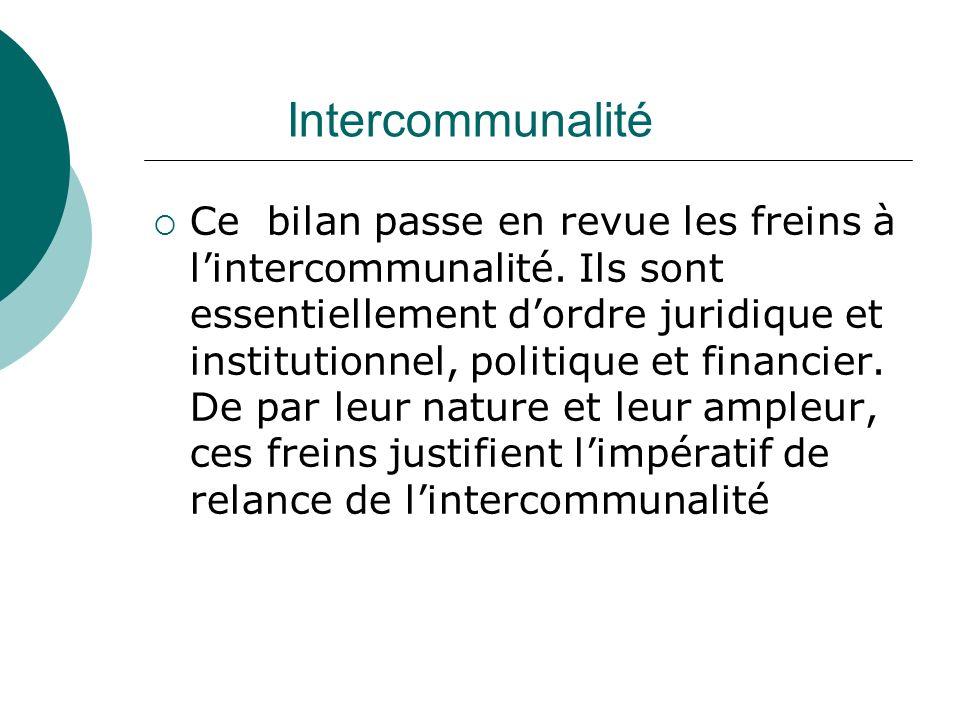 Intercommunalité