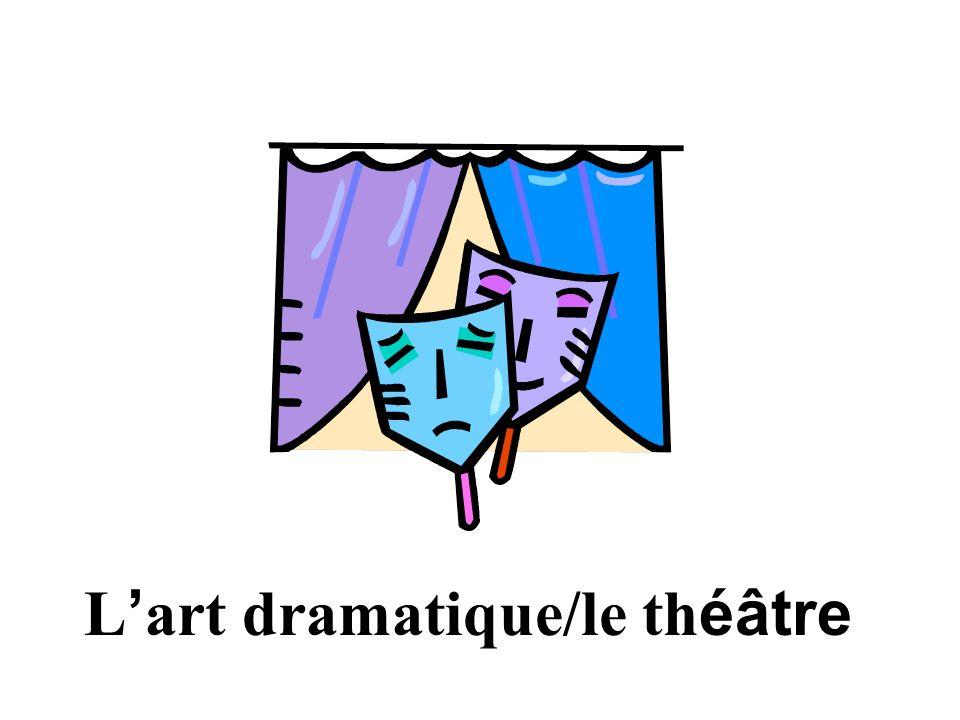 L'art dramatique/le théâtre