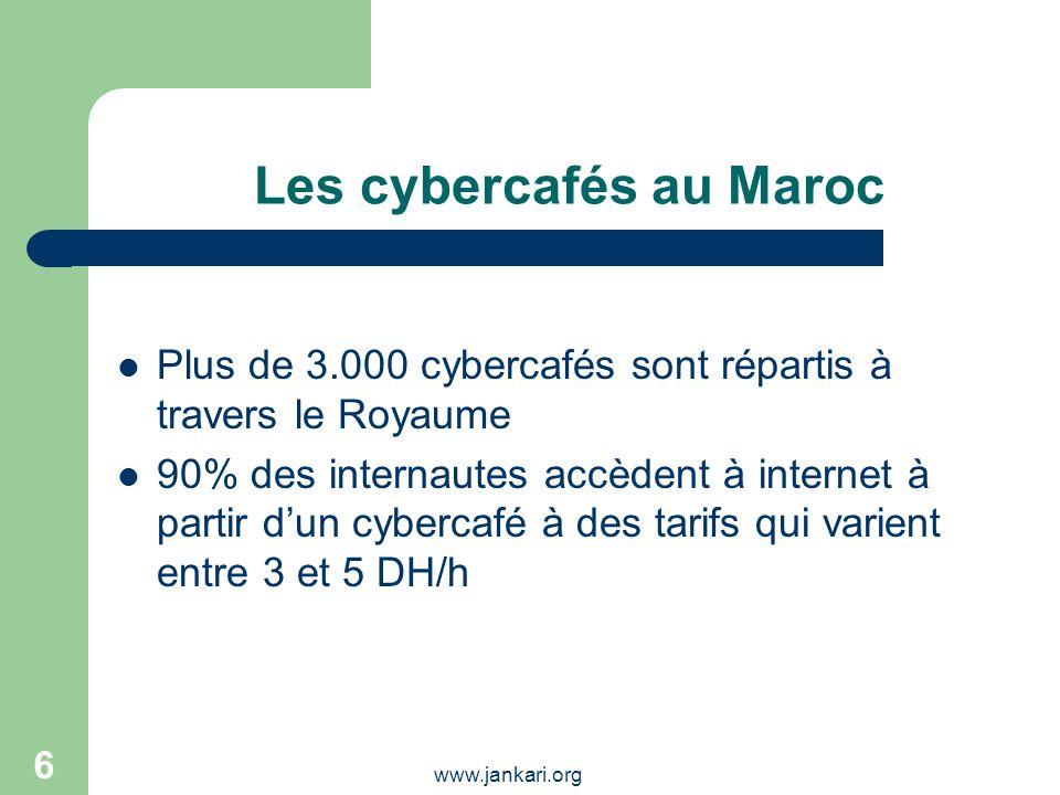 Les cybercafés au Maroc