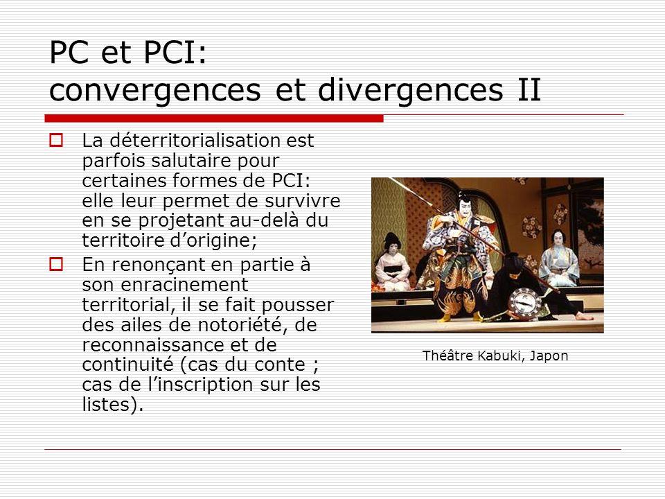 PC et PCI: convergences et divergences II