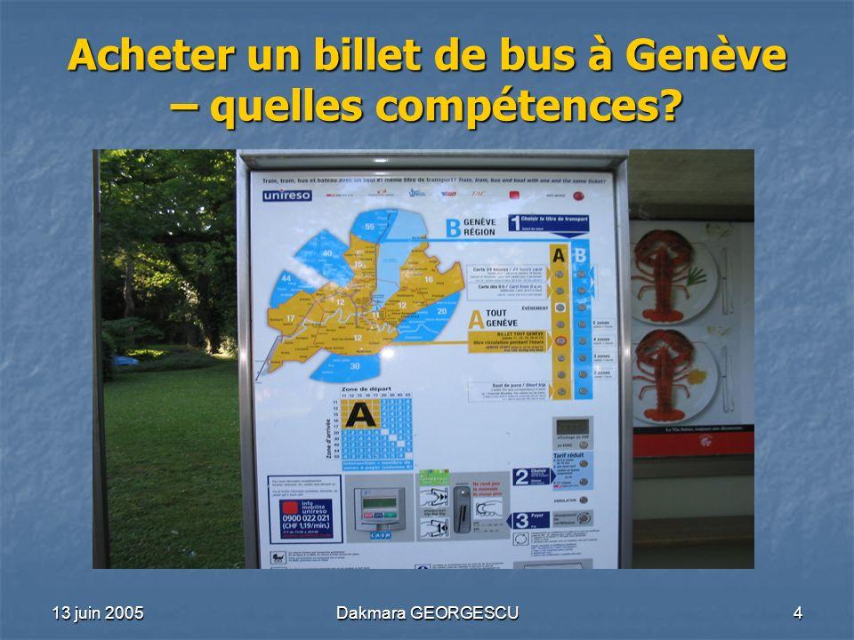 Acheter un billet de bus à Genève – quelles compétences