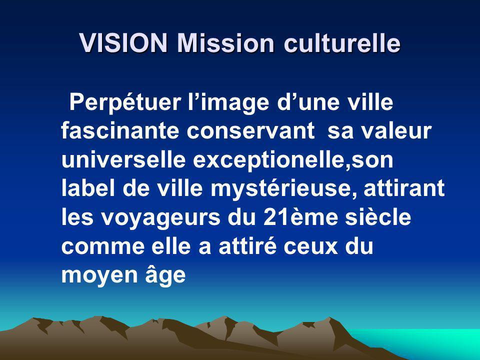 VISION Mission culturelle