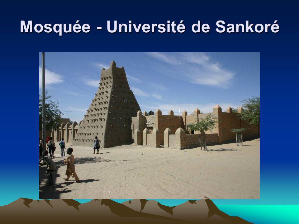 Mosquée - Université de Sankoré