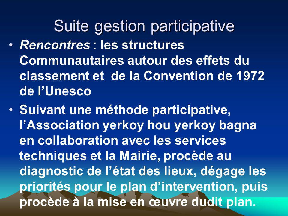 Suite gestion participative