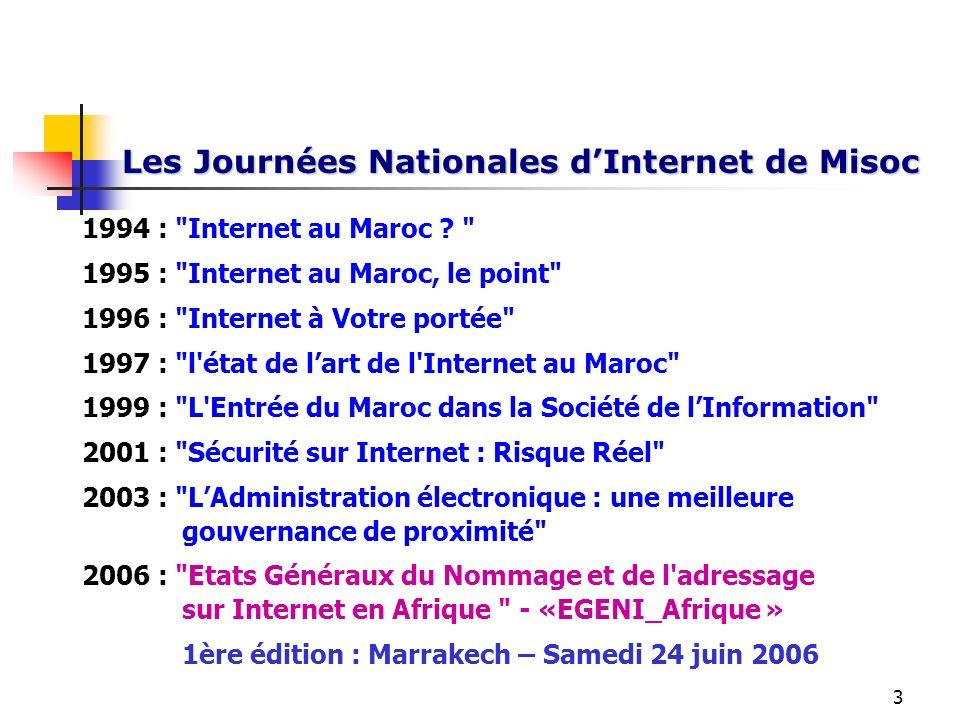Les Journées Nationales d'Internet de Misoc