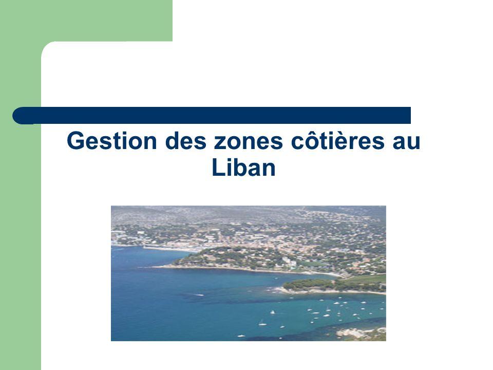 Gestion des zones côtières au Liban