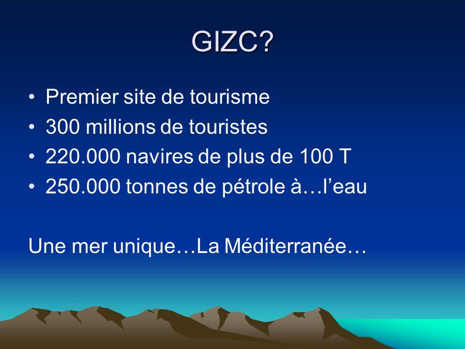 GIZC Premier site de tourisme 300 millions de touristes