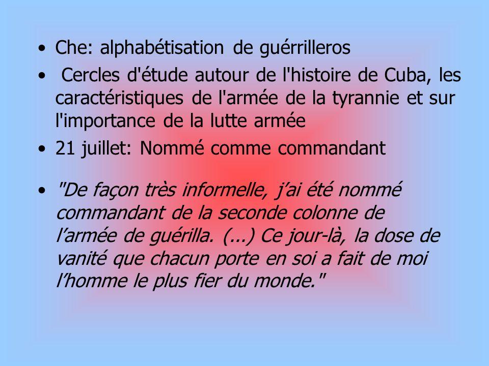 Che: alphabétisation de guérrilleros