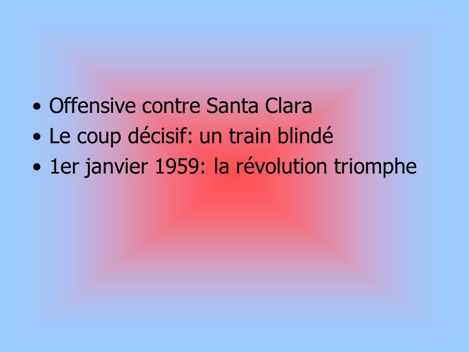 Offensive contre Santa Clara