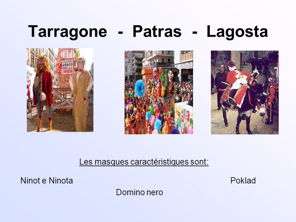Tarragone - Patras - Lagosta