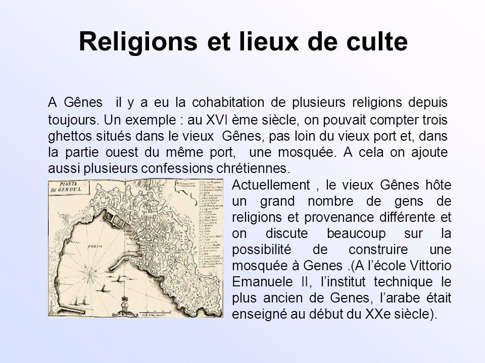 Religions et lieux de culte