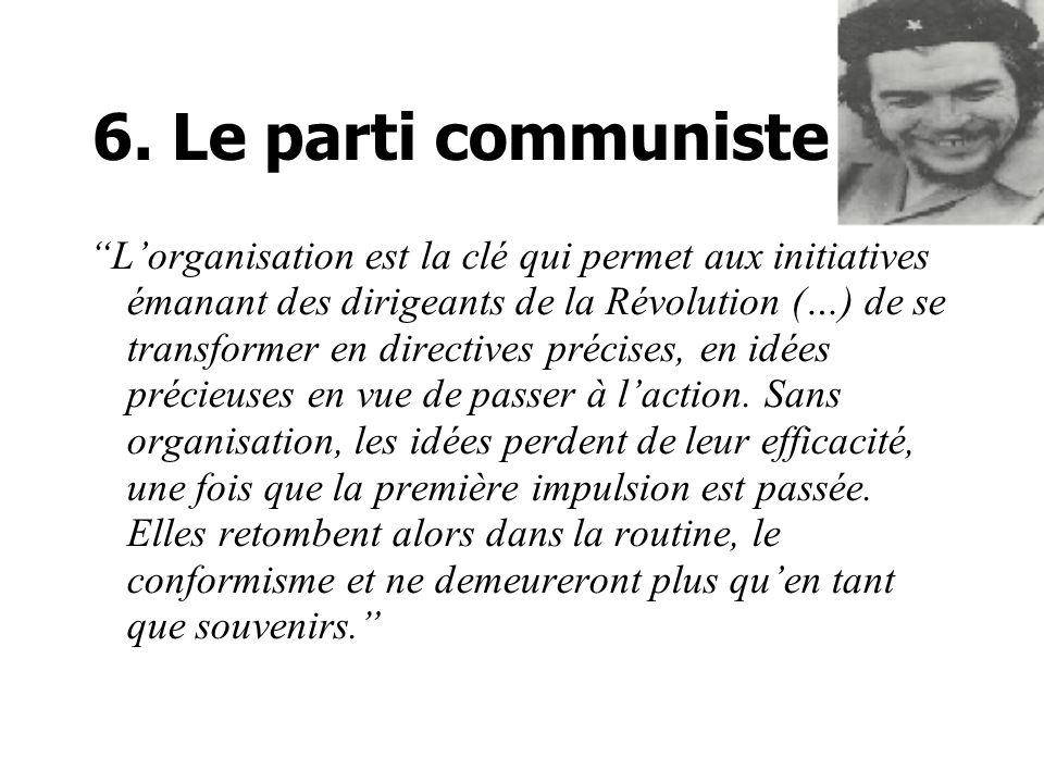6. Le parti communiste
