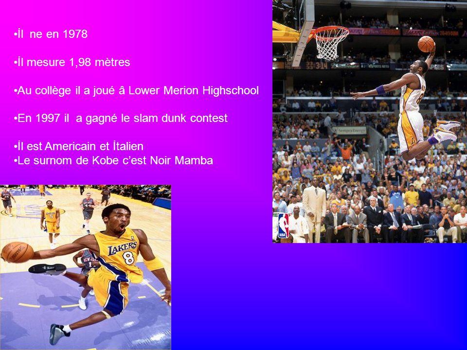 İl ne en 1978 İl mesure 1,98 mètres. Au collège il a joué â Lower Merion Highschool. En 1997 il a gagné le slam dunk contest.
