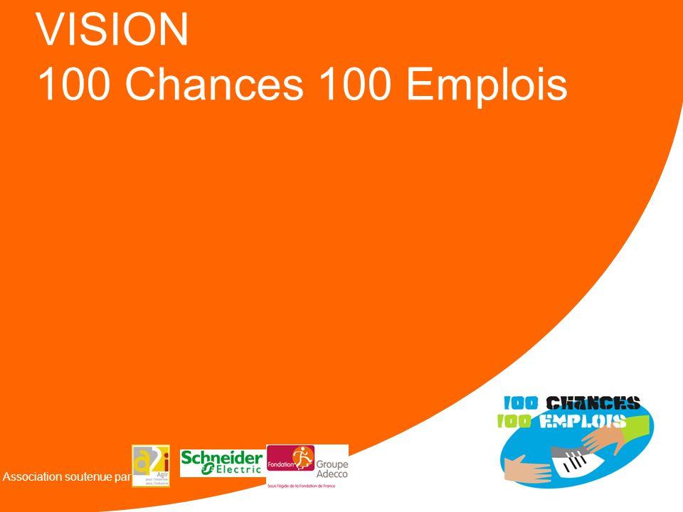 VISION 100 Chances 100 Emplois