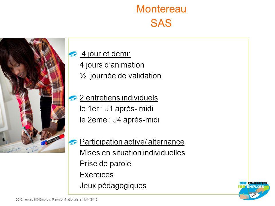 Montereau SAS 4 jour et demi: 4 jours d'animation