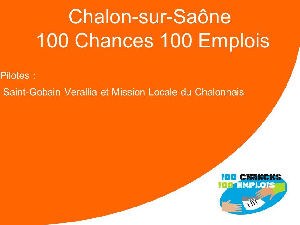 Chalon-sur-Saône 100 Chances 100 Emplois
