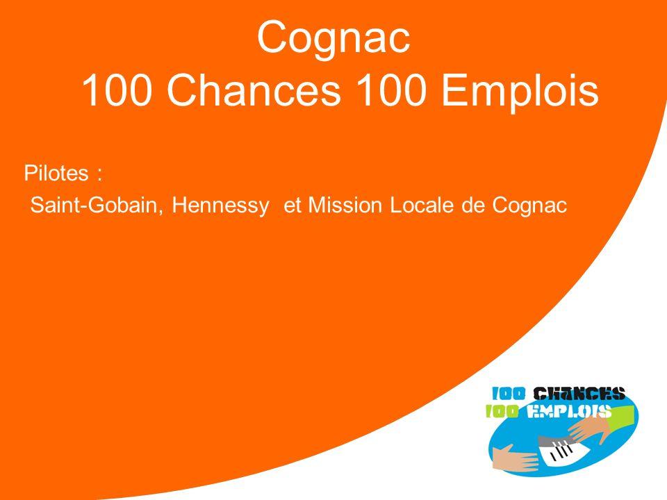 Cognac 100 Chances 100 Emplois