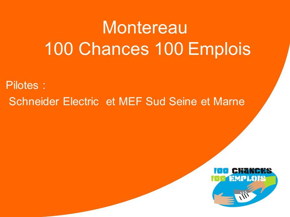 Montereau 100 Chances 100 Emplois
