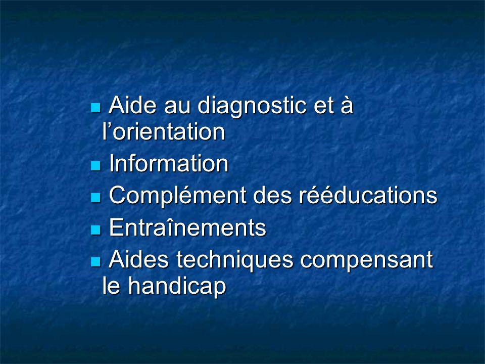 Aide au diagnostic et à l'orientation