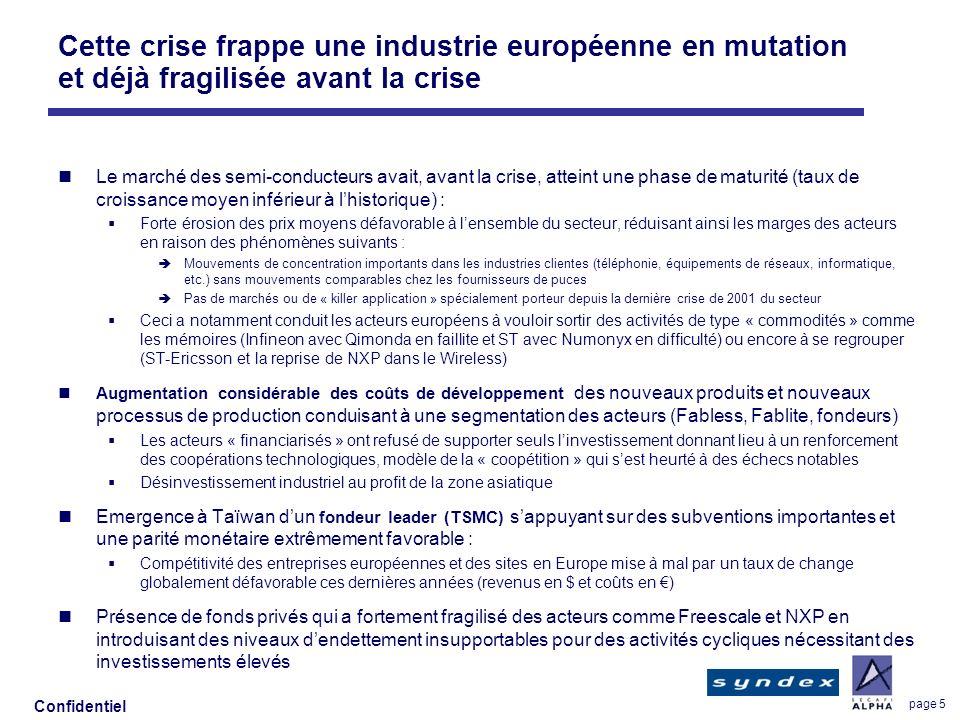 Cette crise frappe une industrie européenne en mutation et déjà fragilisée avant la crise