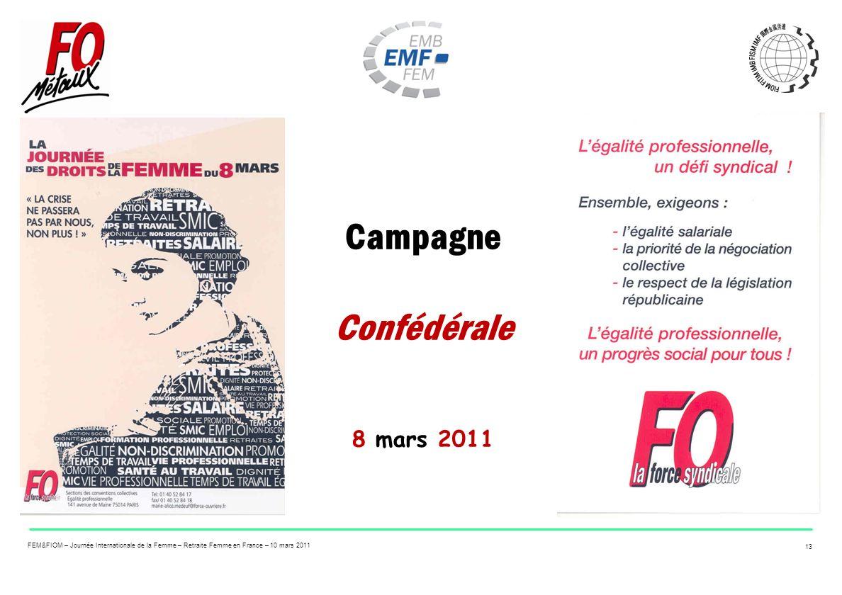 Campagne Confédérale 8 mars 2011