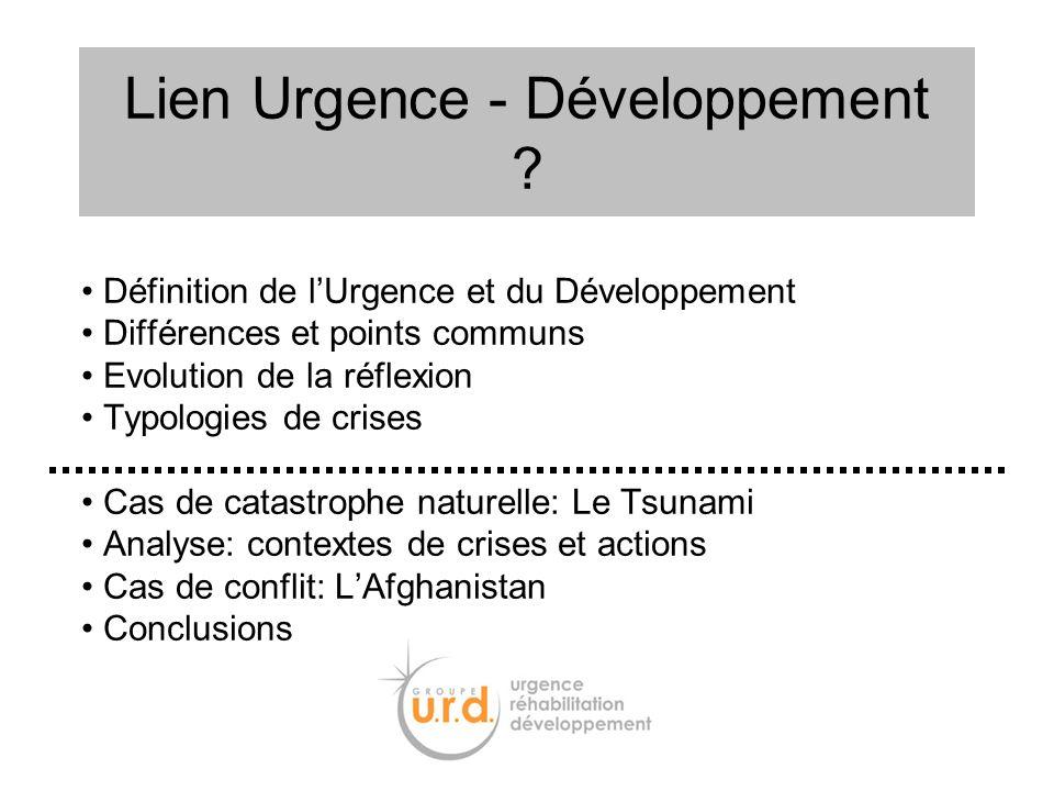 Lien Urgence - Développement