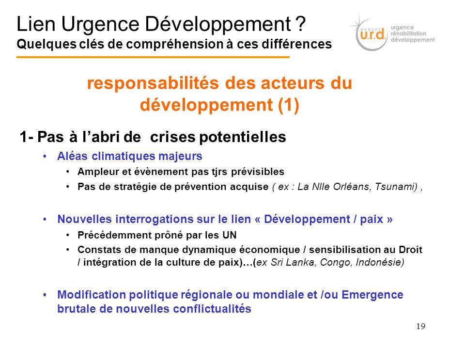 responsabilités des acteurs du développement (1)