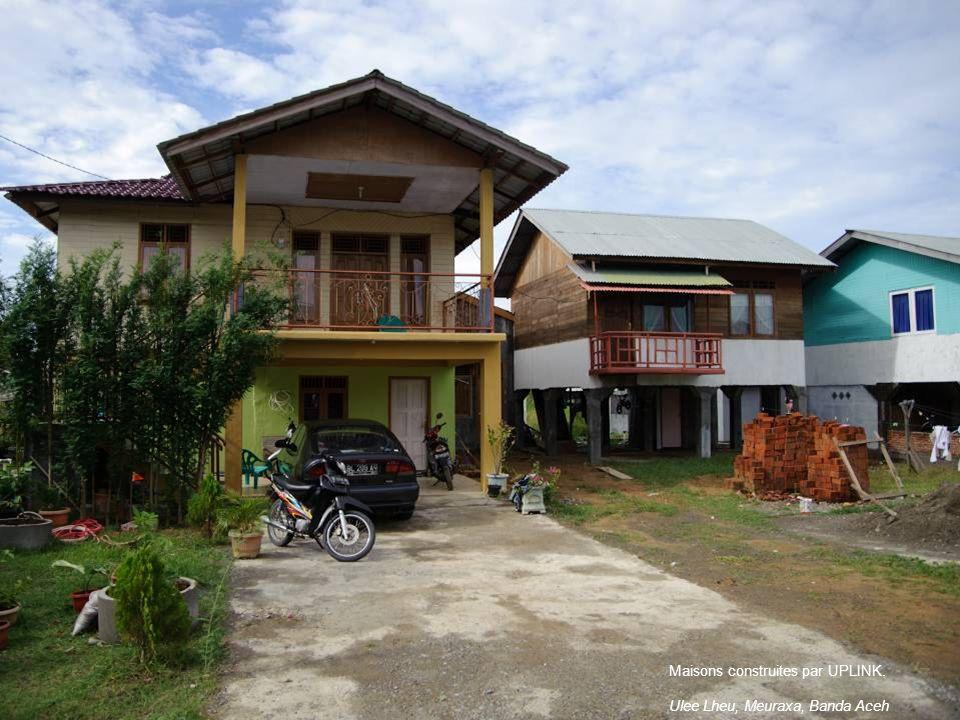 Maisons construites par UPLINK.