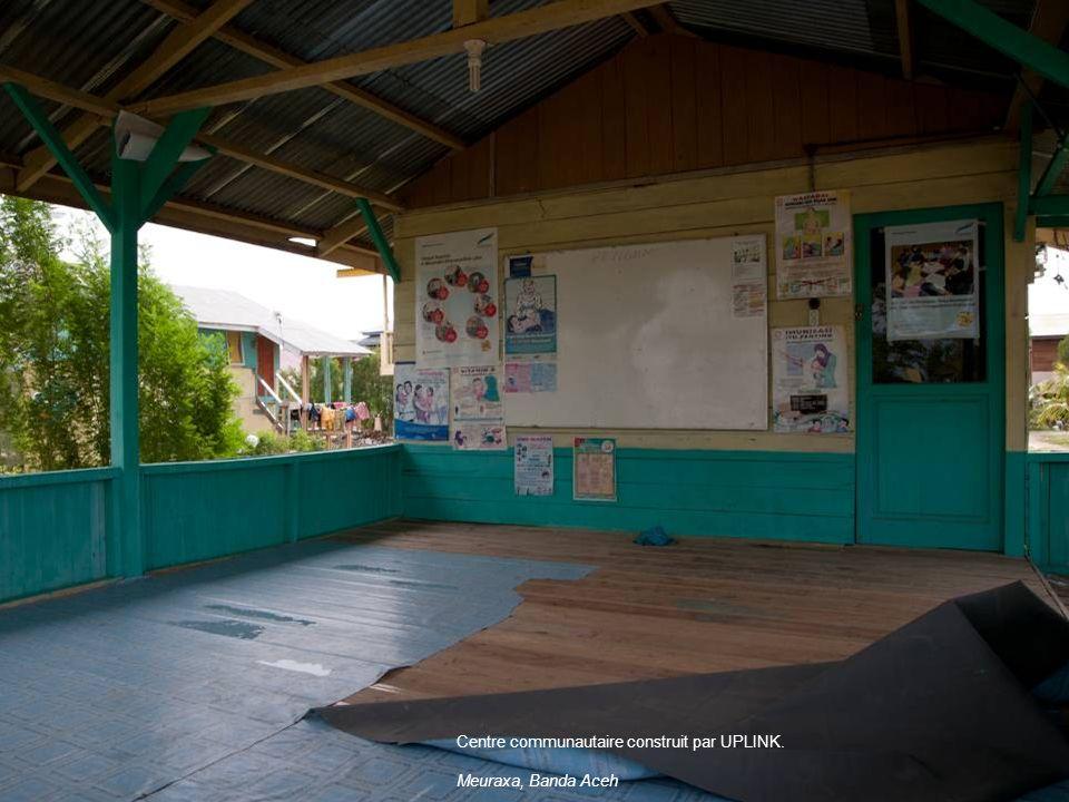 Centre communautaire construit par UPLINK.