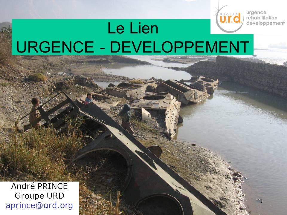 Le Lien URGENCE - DEVELOPPEMENT