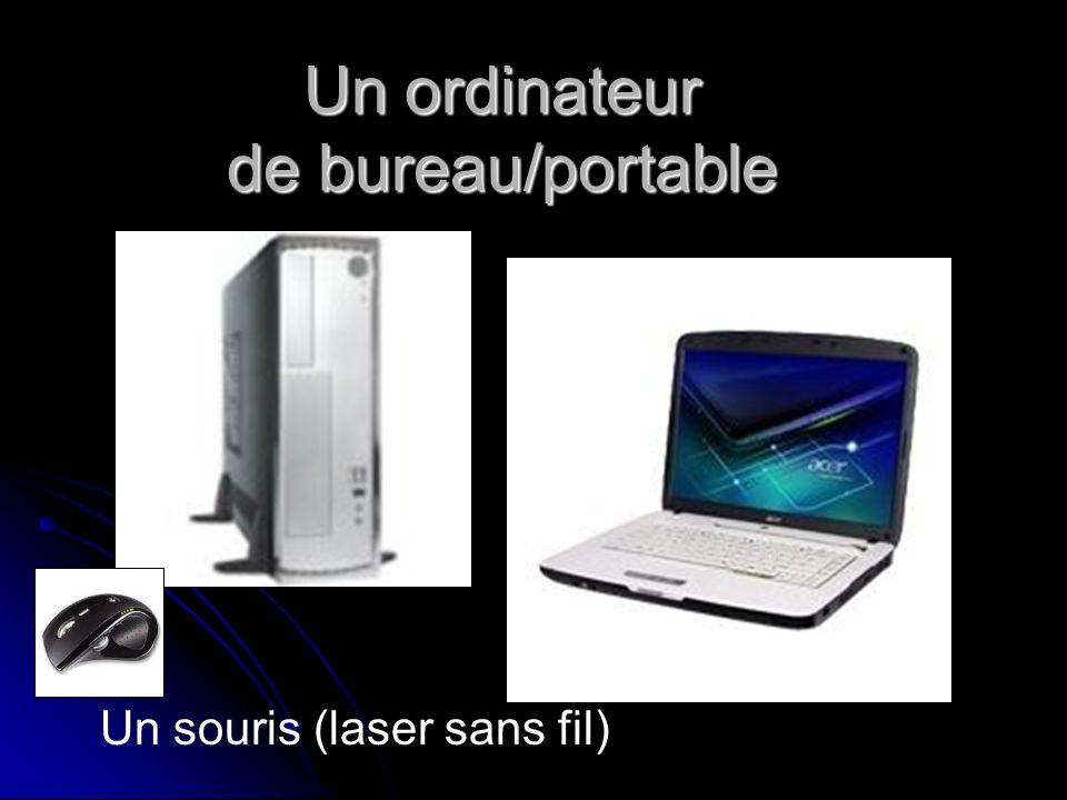 Un ordinateur de bureau/portable