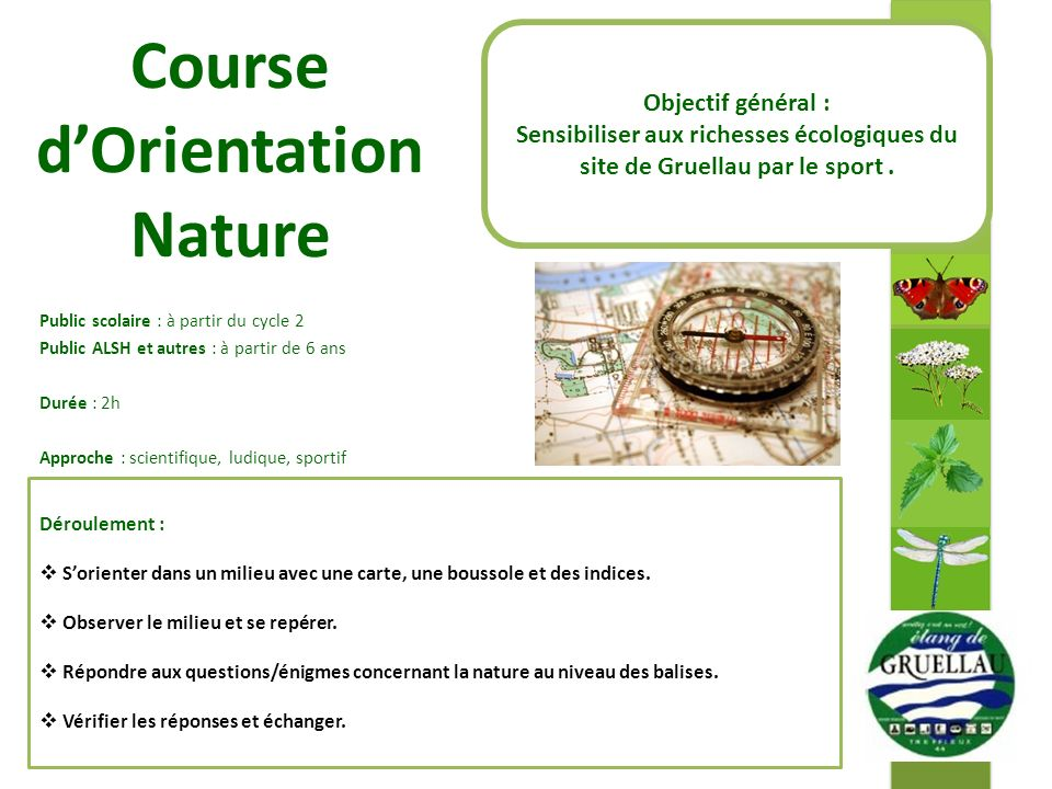 Course d'Orientation Nature