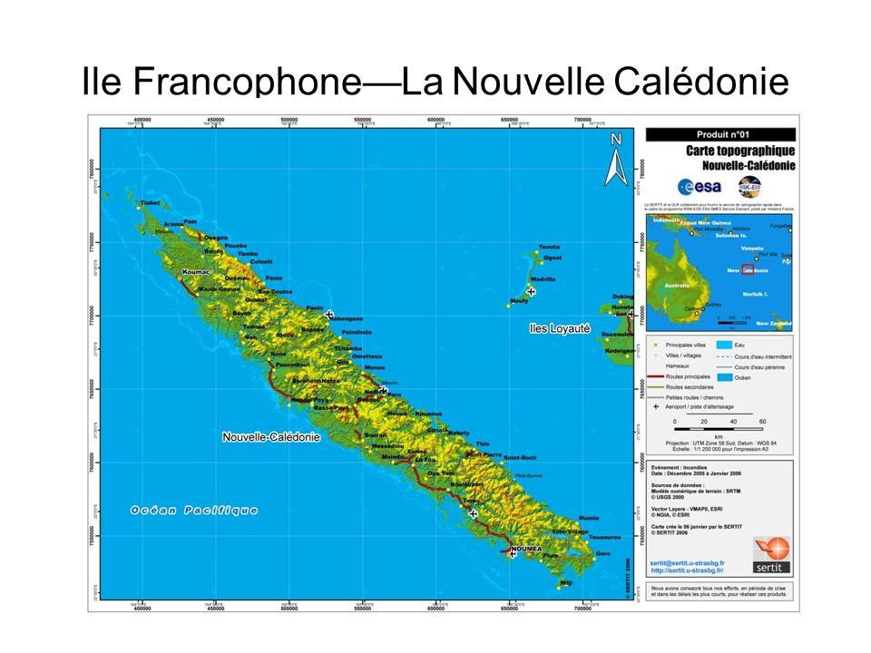 Ile Francophone—La Nouvelle Calédonie