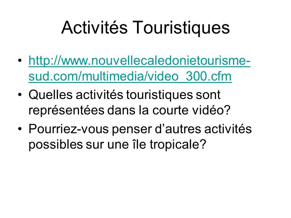 Activités Touristiques