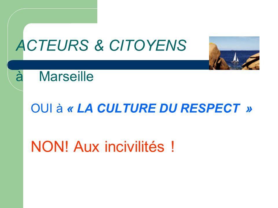 ACTEURS & CITOYENS à Marseille