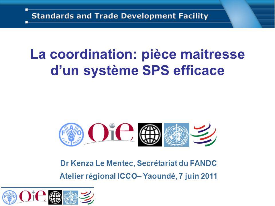 La coordination: pièce maitresse d'un système SPS efficace