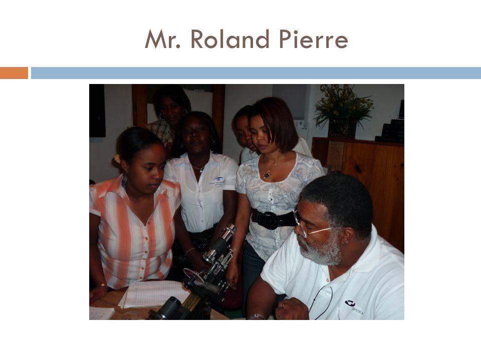Mr. Roland Pierre