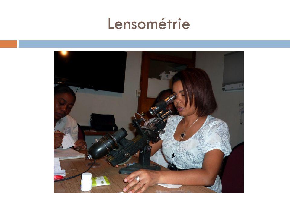 Lensométrie