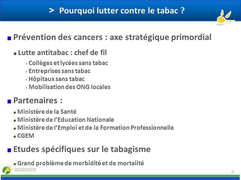 > Pourquoi lutter contre le tabac