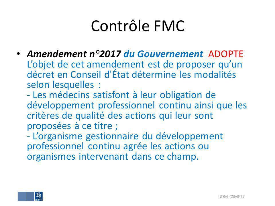 Contrôle FMC