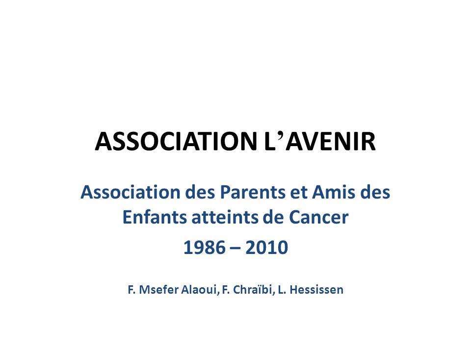 ASSOCIATION L'AVENIRAssociation des Parents et Amis des Enfants atteints de Cancer.