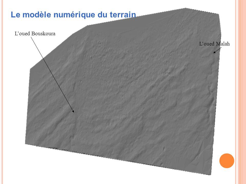 Le modèle numérique du terrain